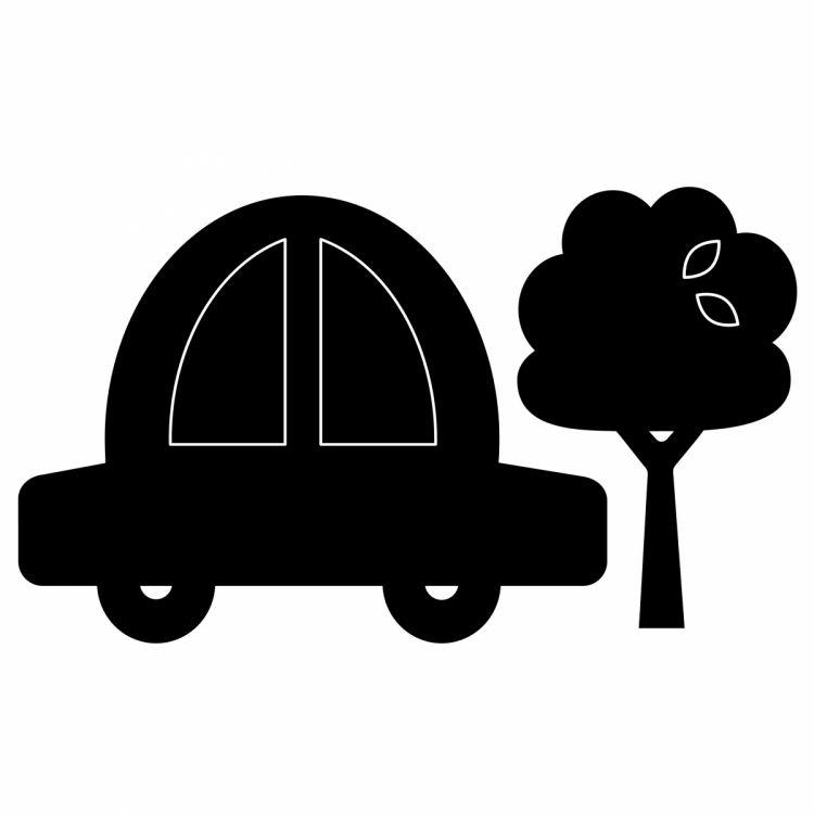 Apli Kids - Tablica Naklejka Kredowa Samochód