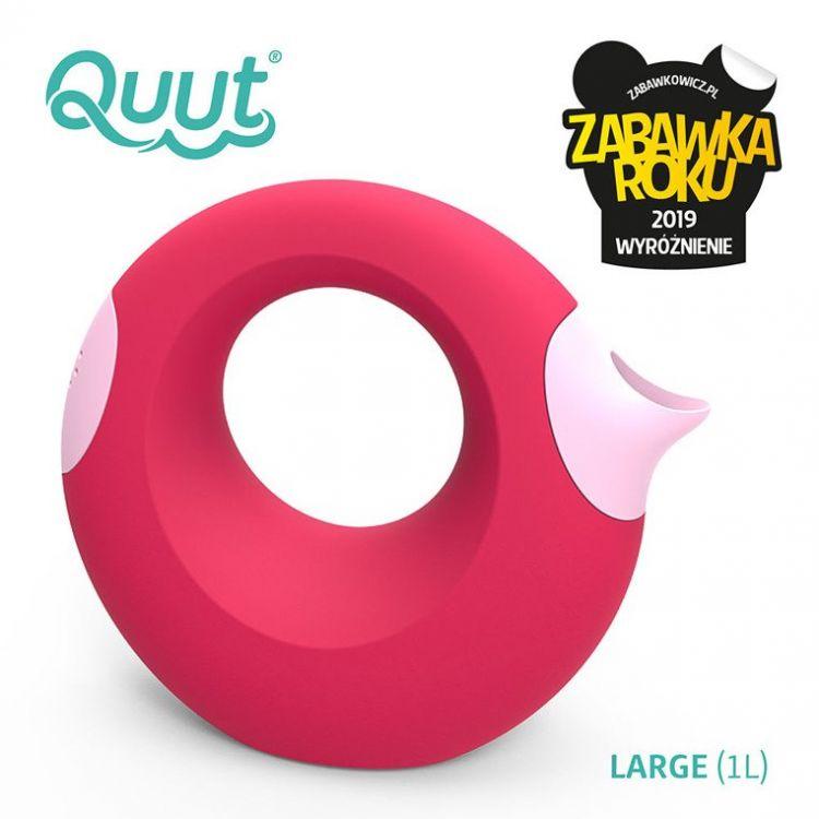 Quut - Konewka Duża Cana Cherry Red + Sweet Pink 0m+