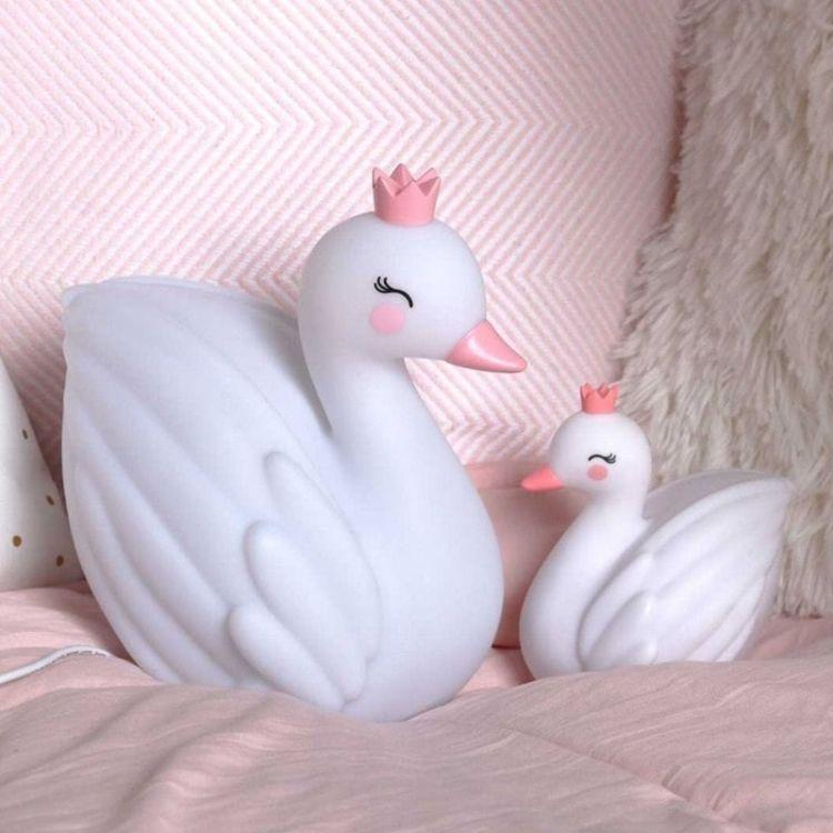 Little Lovely Company - Mała Lampka Księżniczka Łabędzi