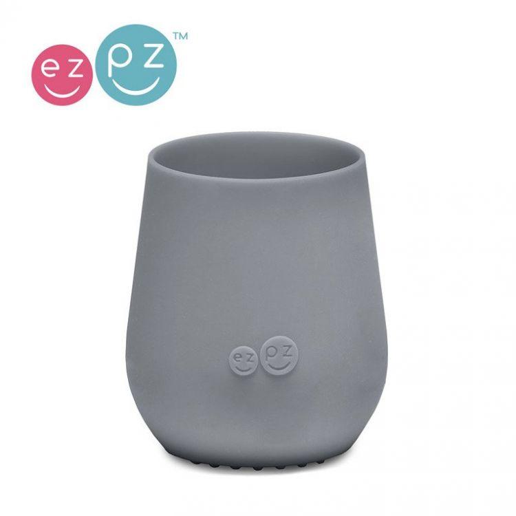 EZPZ - Silikonowy Kubeczek Tiny Cup Szary