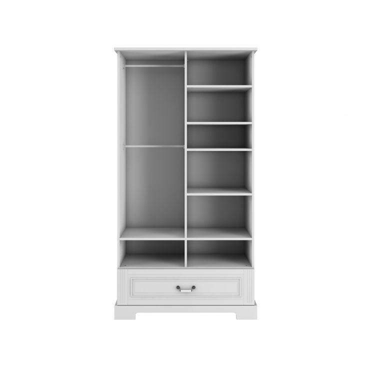 Bellamy - Ines elegant white szafa 2-drzwiowa tall