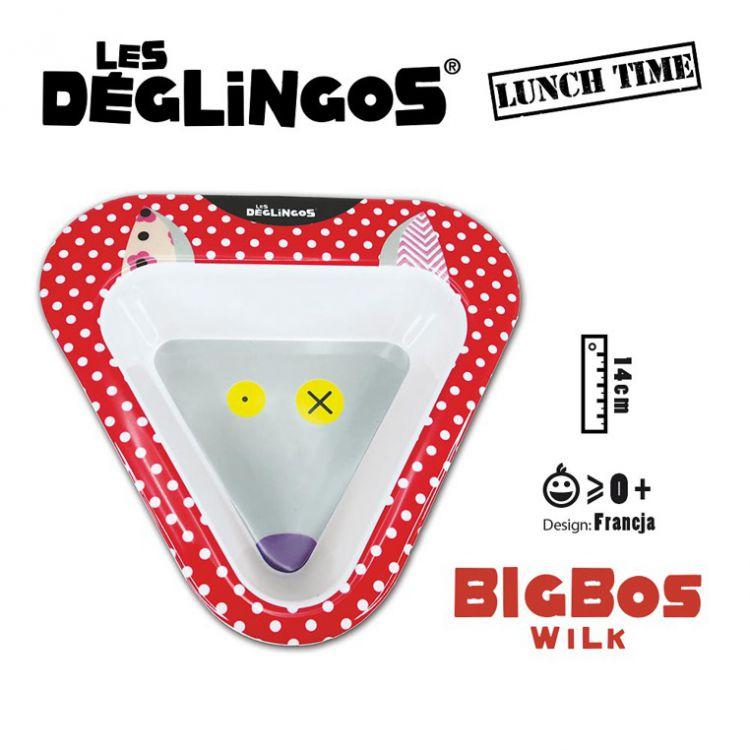 Les Deglingos - Miseczka z Melaminy Wilk Bigbos