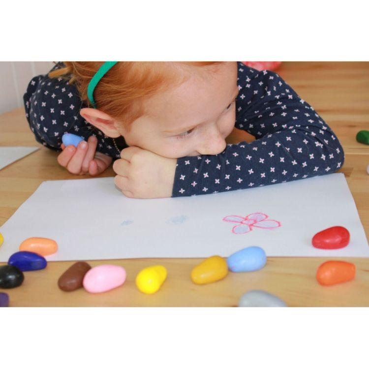 Crayon Rocks - Kredki 20 Kolorów w Woreczku Halloween 3+
