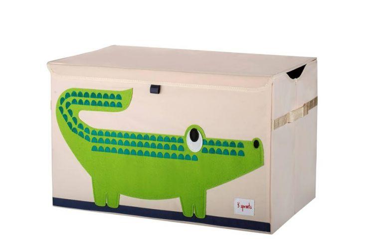 3 Sprouts - Pudełko Zamykane Krokodyl