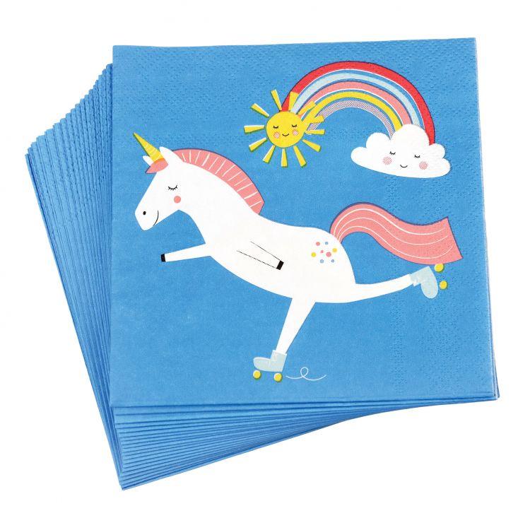 Rex - Serwetki Urodzinowe Magical Unicorn