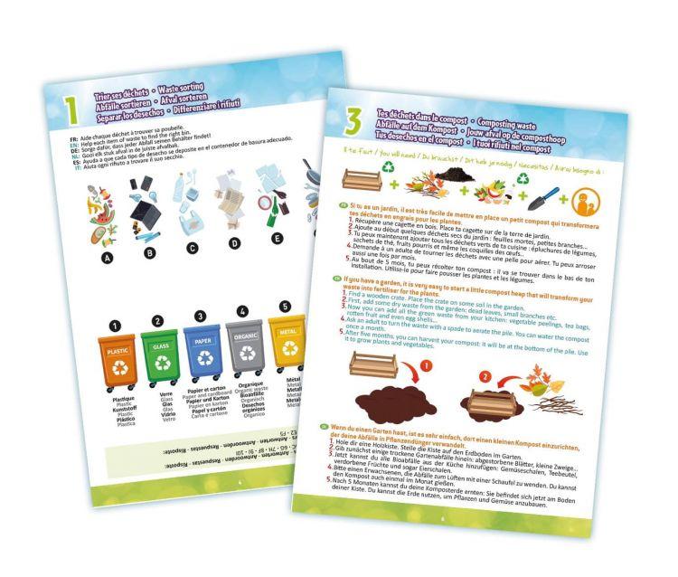 BUKI - Chwytak przedmiotów do zbierania odpadów 6+