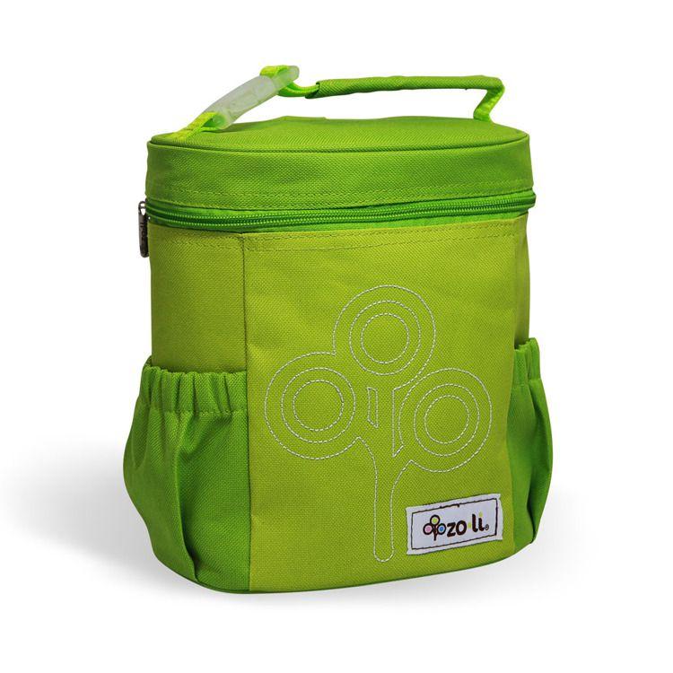ZoLi - Termotorba Lunchbox Nomnom Zielony