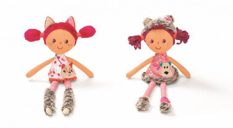 Lilliputiens - Lalka Szamacianka Mini Alice 2+