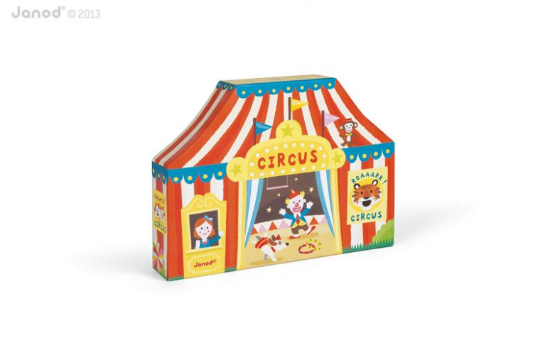 Janod - Story Box Cyrk