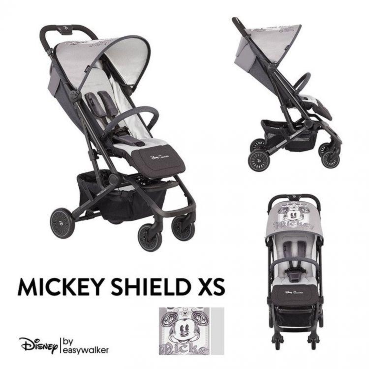 Disney by Easywalker - Buggy XS Wózek Spacerowy Z Osłonką Przeciwdeszczową Mickey Shield