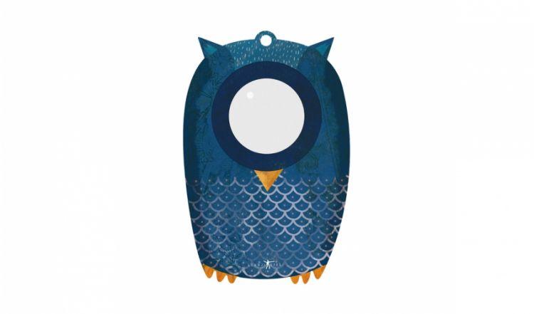 Londji - Płaski Kalejdoskop Owl Big Eye 3+