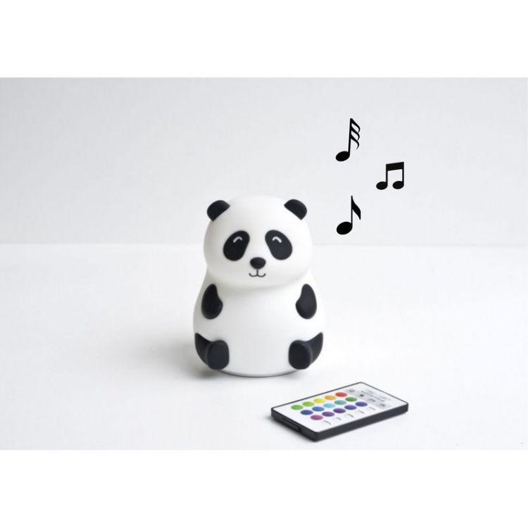 Rabbit&Friends - Lampka Panda z Głośniczkiem
