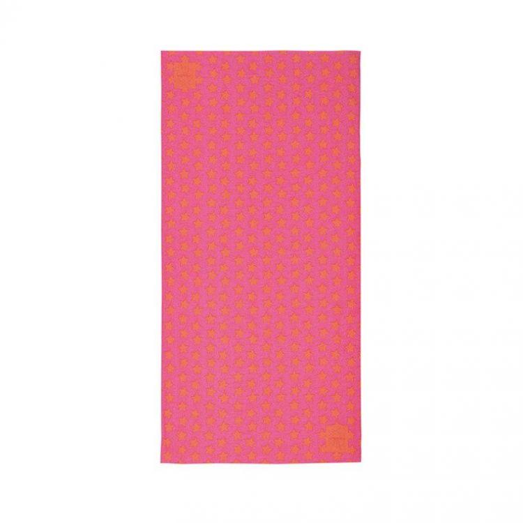 Lassig Opaska wielofunkcyjna Twister Coolmax® Peach  Stars UV 40+