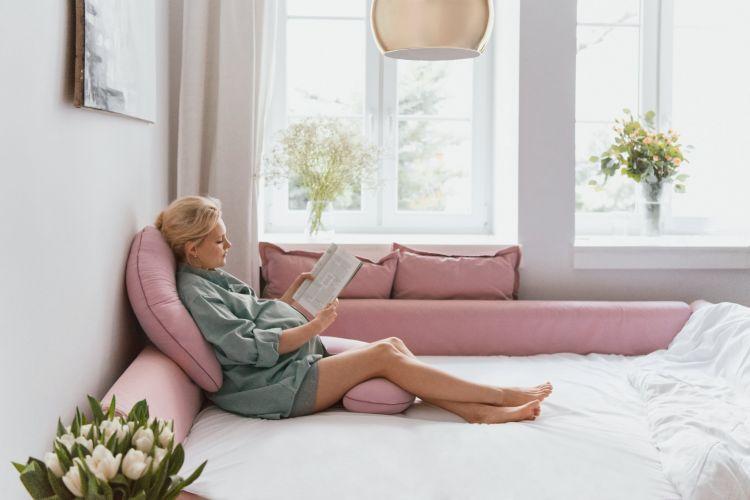 Poofi - Poduszka Ciążowa Organic Fiołek