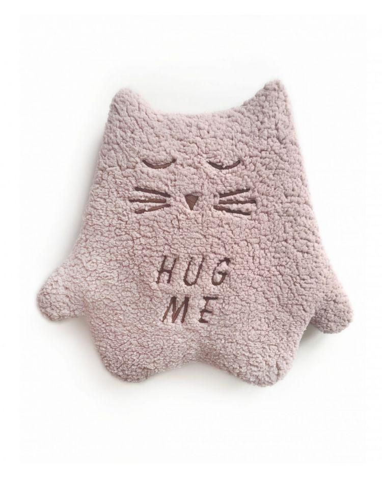 Malomi Kids - Przytulanka Termofor Kot Pink Hug Me