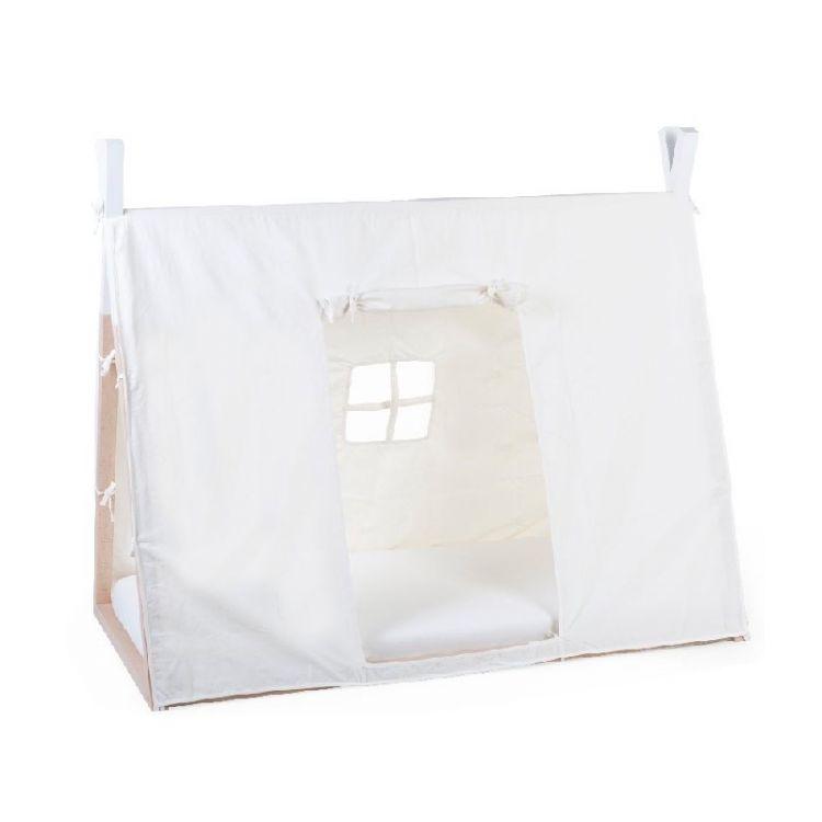 Childhome - Poszycie do Łóżka Tipi 70 x 140 cm White