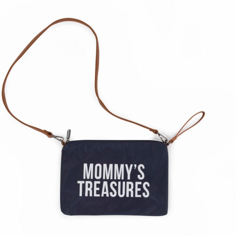 Childhome - Torebka Saszetka Mommy's Treasures Granatowa