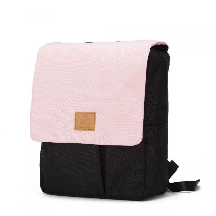 My Bag's - Plecak Reflap dla Mam Eco Black/Pink