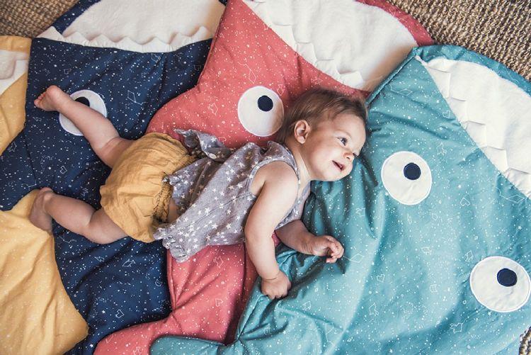 Baby Bites - Śpiworek Letni Constellations 1-18m Coral