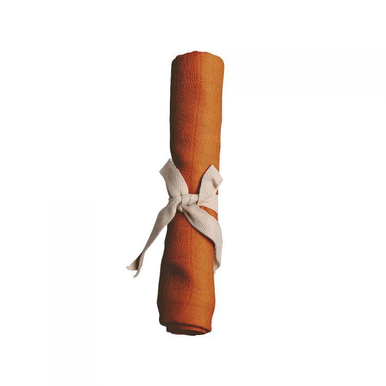 Filibabba - Pieluszka Muślinowa Dark Orange 65x65cm