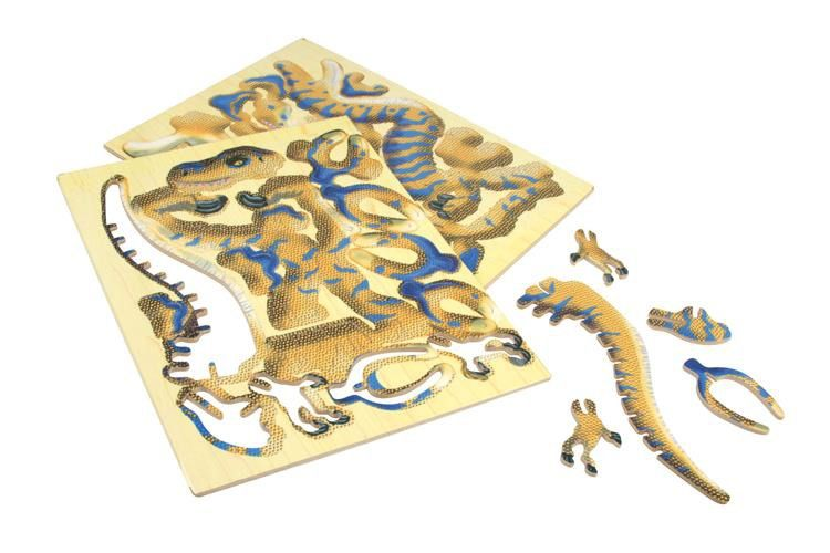 Bones&More - 3D Puzzle Ważka