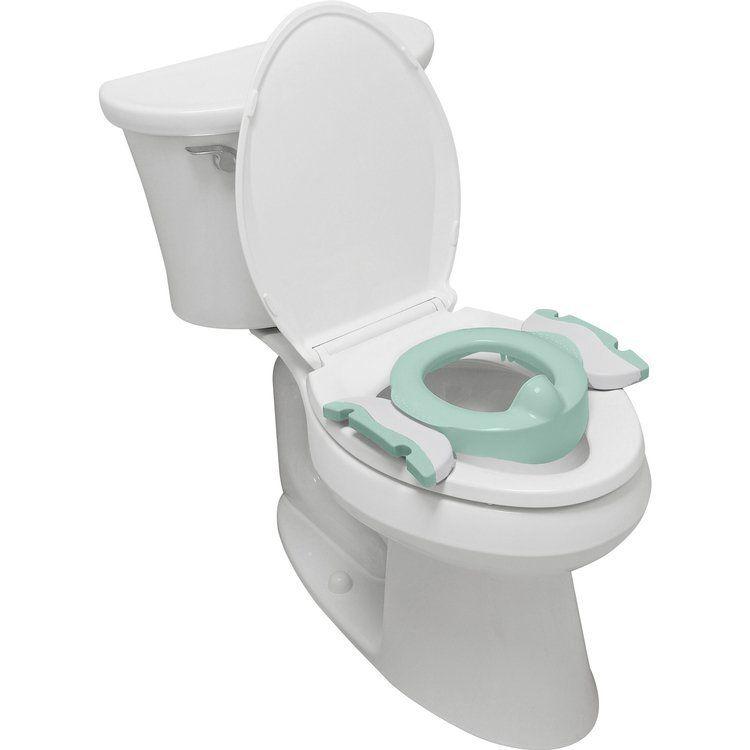 Potette Plus - Nocnik dla Dziecka i Nakładka na Toaletę Miętowo-biały