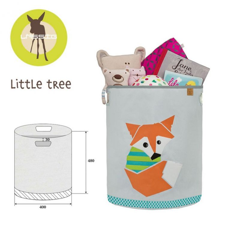 Lassig - Pojemnik Kosz na Zabawki Little Tree Lis