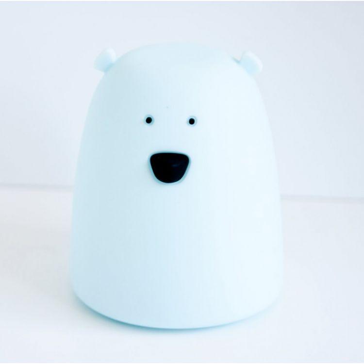 Rabbit&Friends - Lampka Miś Mały Niebieski