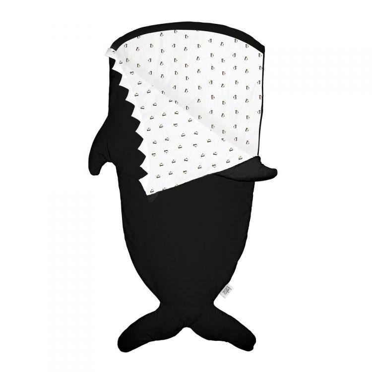Baby Bites - Śpiworek Zimowy Orca Black 2-6 lat