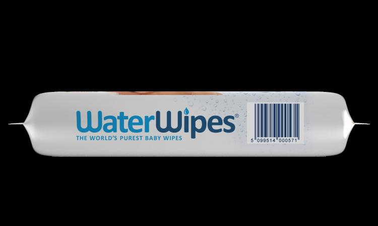 WaterWipes - Chusteczki Nasączane Czystą Wodą, 60szt.