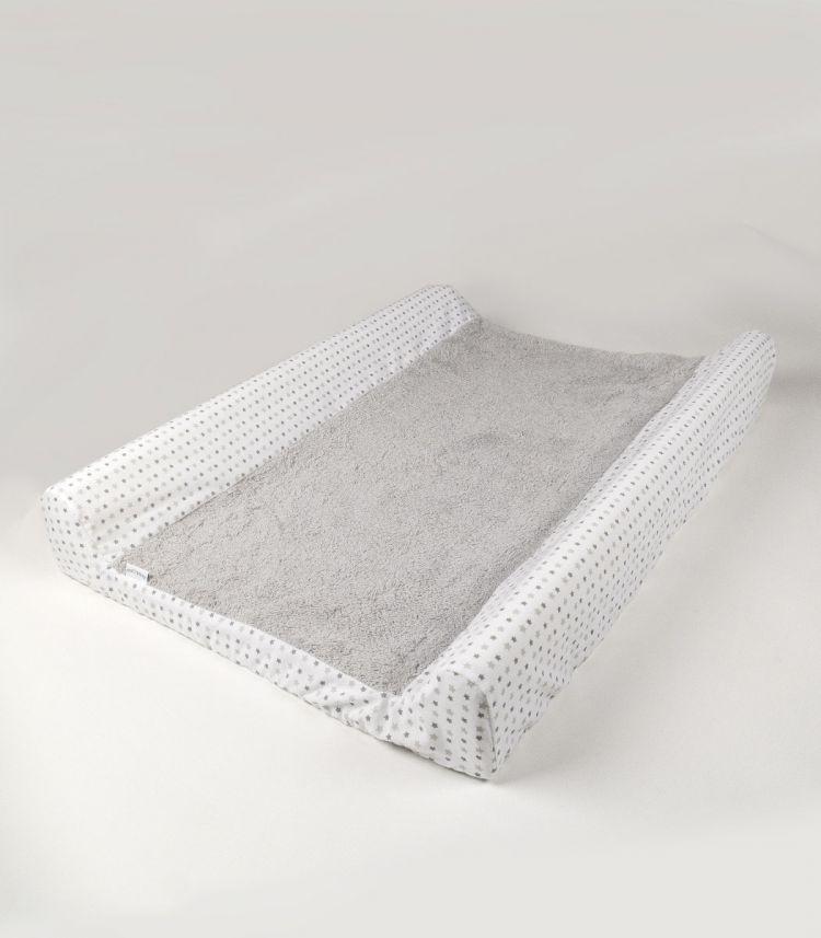 Muzpony - Pokrowiec na Przewijak Milky Grey 50x70