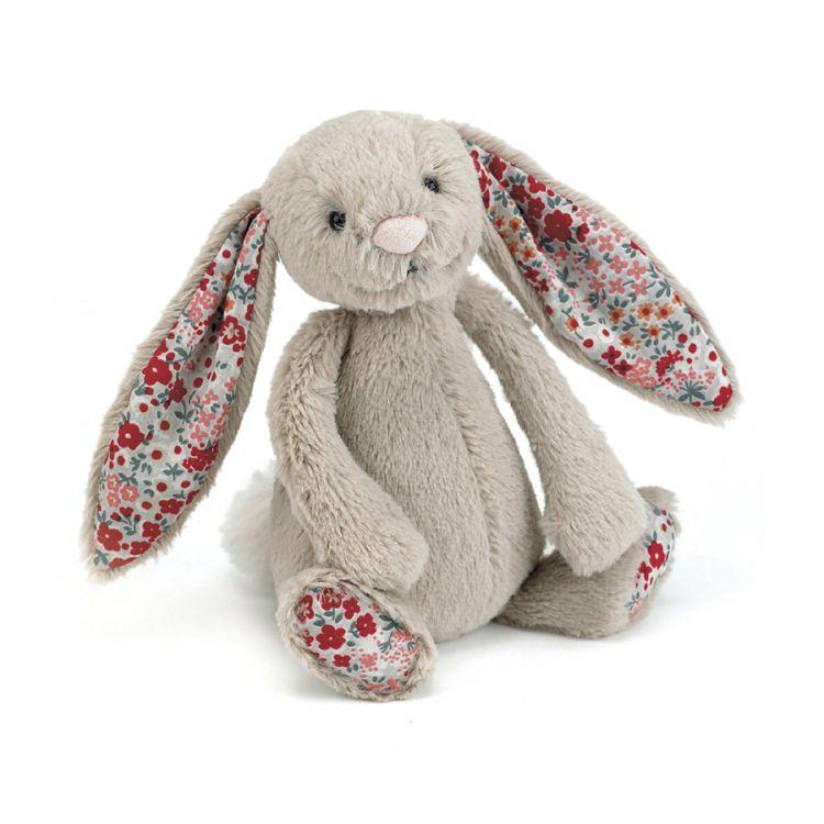 Jellycat - Przytulanka Króliczek Beige Blossom 18cm