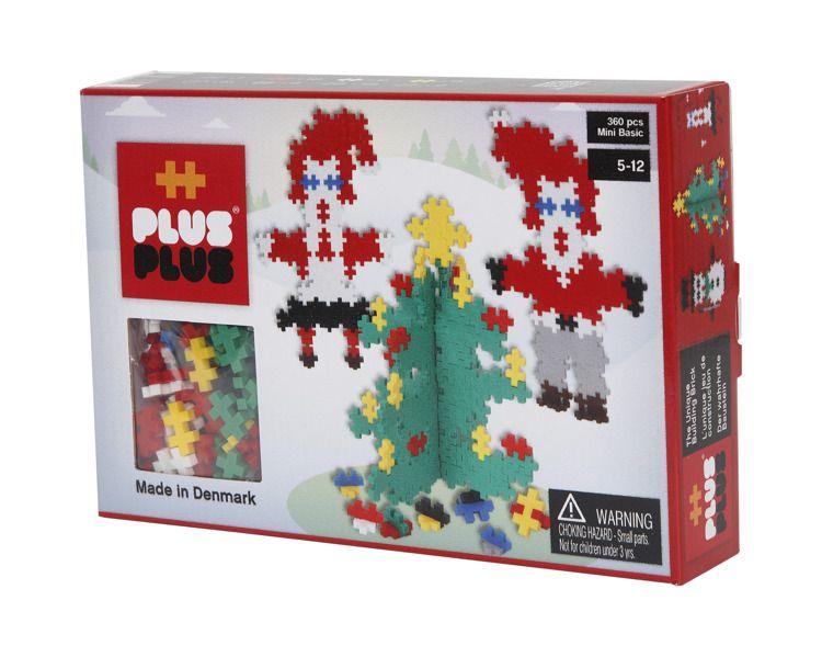 Plus Plus - Klocki Mini Basic 360szt Święty Mikołaj 5+