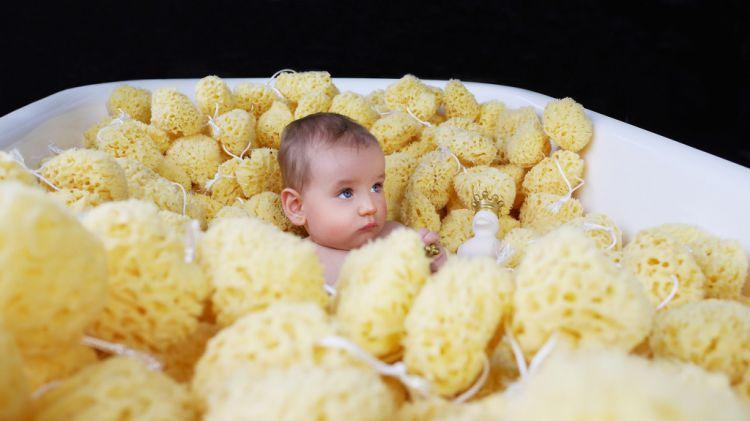 Lullalove - Naturalna Gąbka Morska Honeycomb