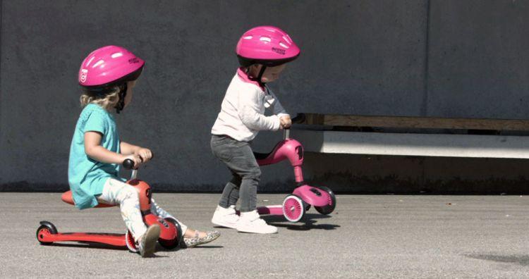 Scootandride - Highwaykick 2w1 Jeździk i Hulajnoga 1-5 lat Red
