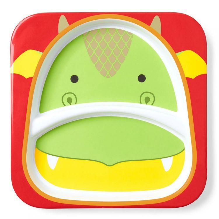 Skip Hop - Talerz Zoo Smok