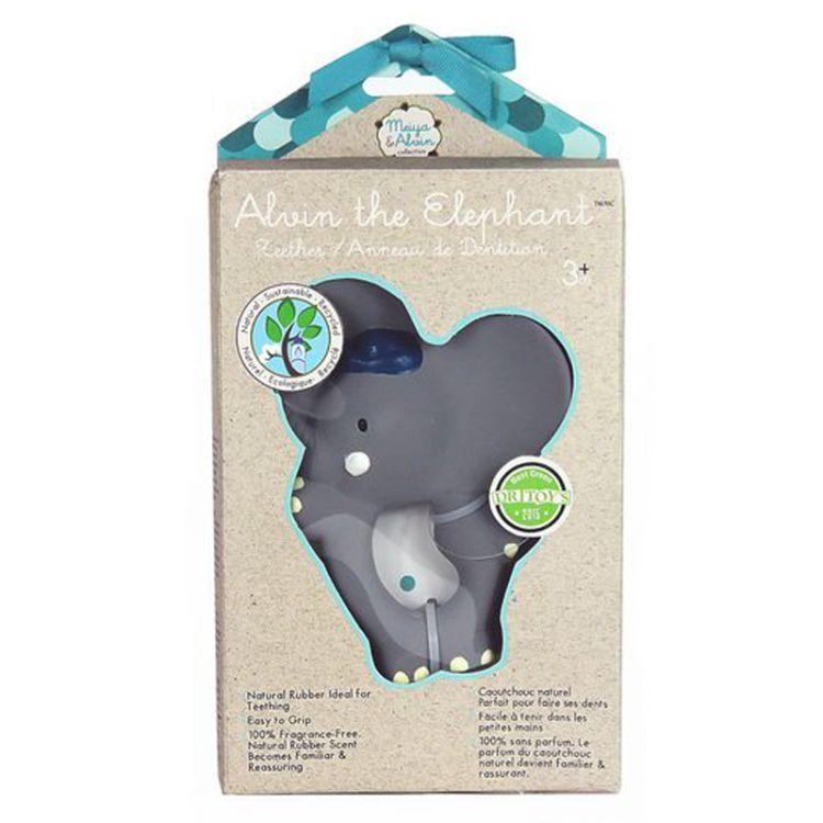 Meiya & Alvin - Organiczny Gryzak Alvin Elephant