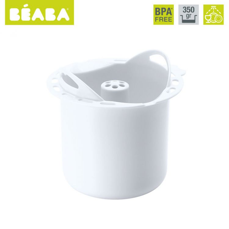 Beaba - Babycook Koszyczek do Gotowania Makaronu Plus White