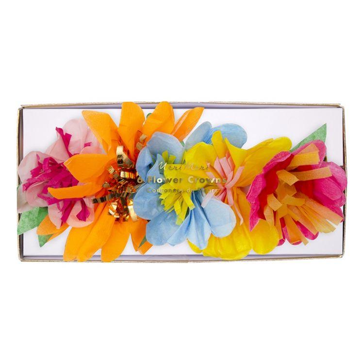 Meri Meri - Korony Kwiaty Blossom 6szt