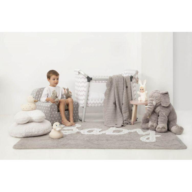 Lorena Canals - Dywan do Prania w Pralce Baby Petit Point Gris 120x160 cm