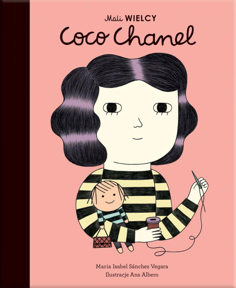 Wydawnictwo Smart Books - Mali Wielcy Coco Chanel