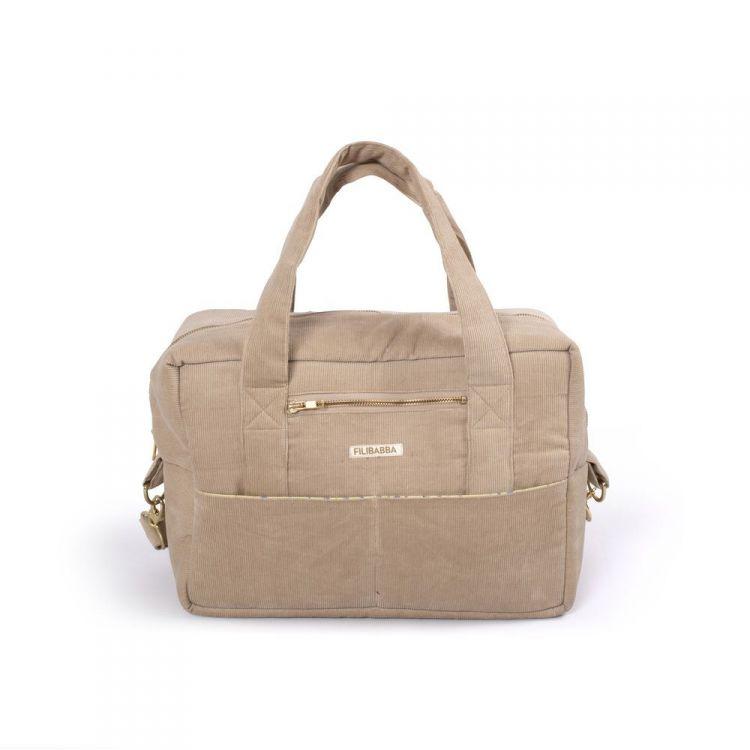 Filibabba - Torba Nursing Bag Sztruks Doeskin