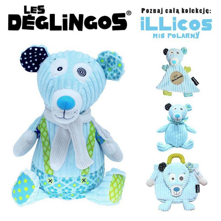 Les Deglingos - Simply 23cm Miś Polarny Illicos