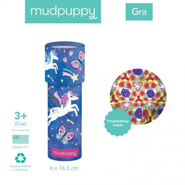 Mudpuppy Kalejdoskop Magiczny Jednorożec 3+