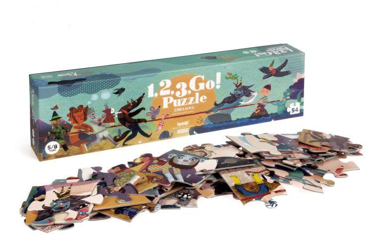 Londji - Puzzle 1, 2, 3 Go!