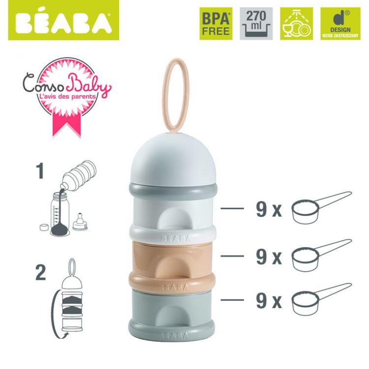 Beaba - Pojemnik na Mleko w Proszku Nude