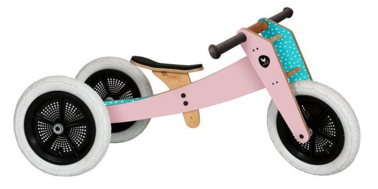Wishbone Bike - Rowerek Biegowy 3 w 1 Original Pink