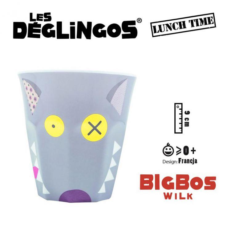 Les Deglingos - Kubek z Melaminy Wilk Bigbos