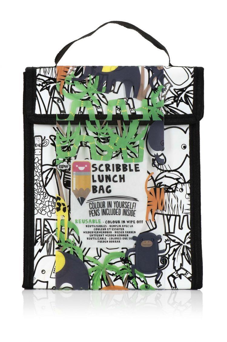 NPW ROW - Lunch Bag Scribble