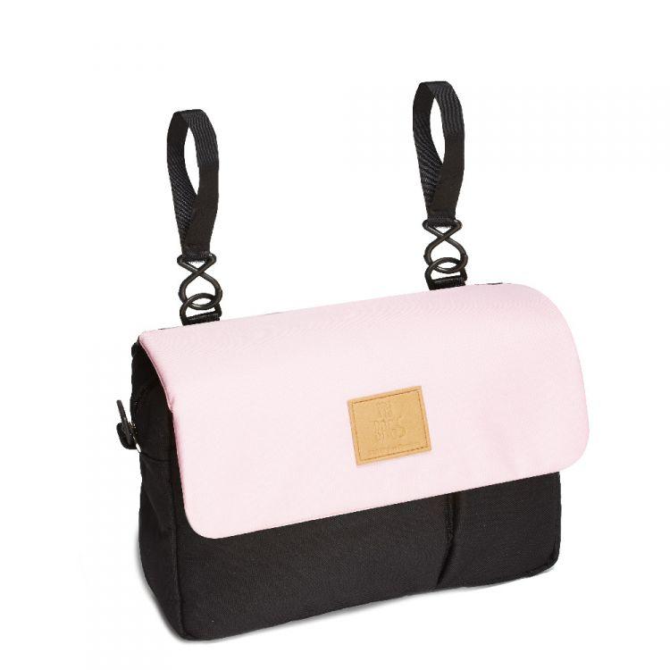 My Bag's - Organizer do Wózka Eco Black/Pink